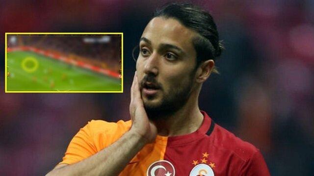 Galatasaray'ın yediği golde Tarık Çamdal'ın çıldırtan görüntüsü!