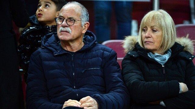 Galatasaray maçındaki bu gizemli çift kim?