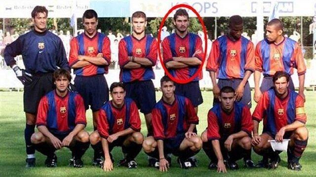 Figo ve Rivaldo ile birlikte oynadı: Barcelona'da forma giyen ilk Türk futbolcu ve enteresan hikayesi