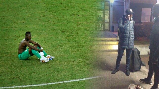 Yıldız futbolcuyu statta unutuldu!