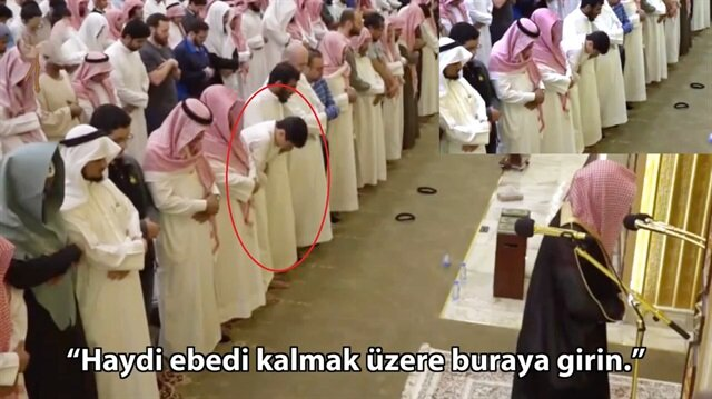 Yere yıkan Kuran-ı Kerim tilaveti!