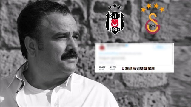 Beşiktaş'tan Galatasaray'a ince Bülent Serttaş göndermesi
