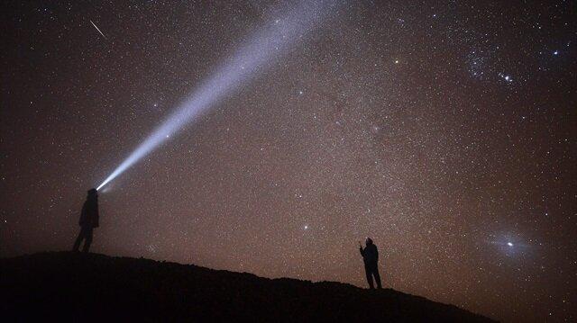 Geminid meteor yağmuru Türkiye'den de izlendi