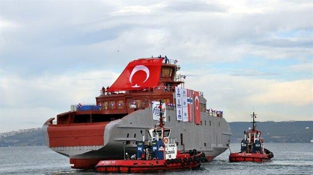 Gemi sektörünün öncü ülkesine gemi satıyoruz