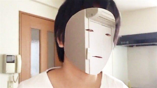 iPhone X'un kamerasıyla görünmezlik maskesi yaptı