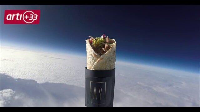 Uzaya kebap gönderdiler!
