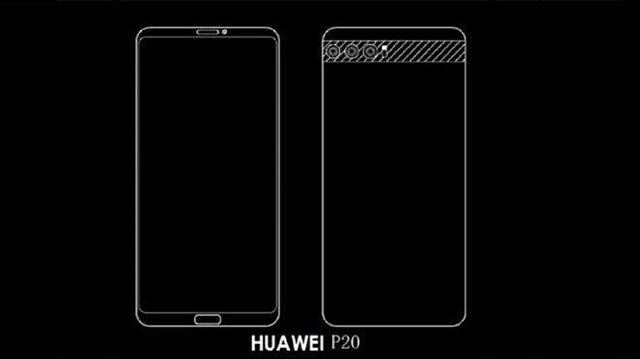Üç arka kameralı akıllı telefon: Huawei P20!