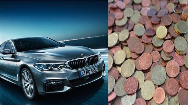 Çinli iş adamından BMW'ye ağır hakaret: Ödemeyi kuruşlarla yaptı!