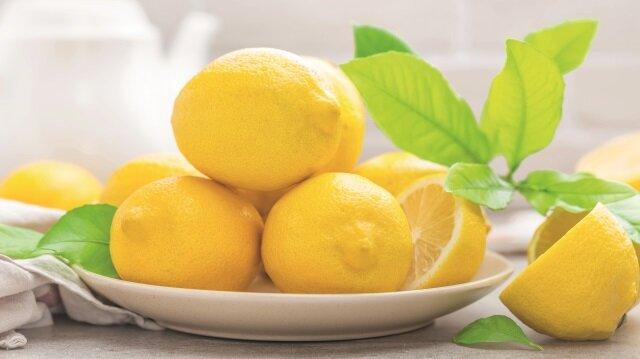Mutfakların olmazsa olmazı: Limon
