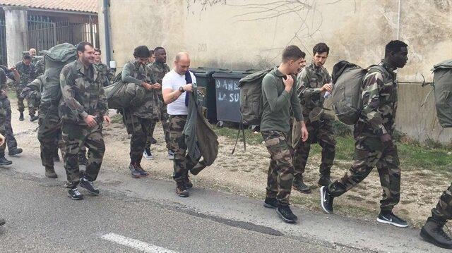 Fenerbahçeli Salih Uçan askeri kampta