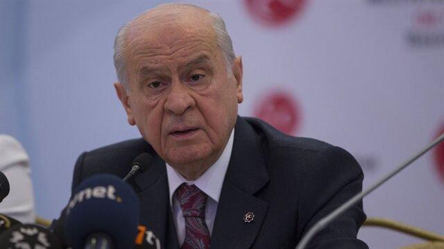 Devlet Bahçeli: MHP cumhurbaşkanı adayı göstermeyecek