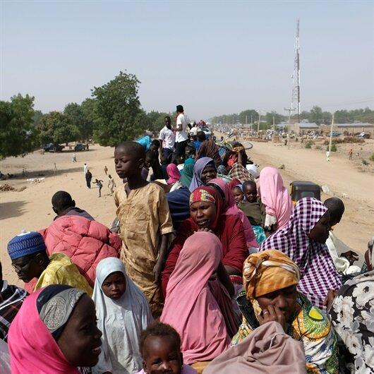 Libya'da yakalanan 481 Nijeryalı ülkesine iade edildi