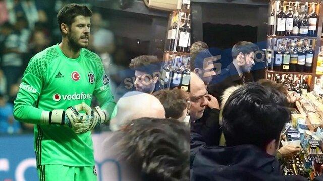 Beşiktaş'ın yıldızı sigara alırken görüntülendi