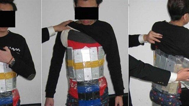 İnanılmaz kaçakçılık denemesi sınırda yakalandı: Tam 94 iPhone ile!