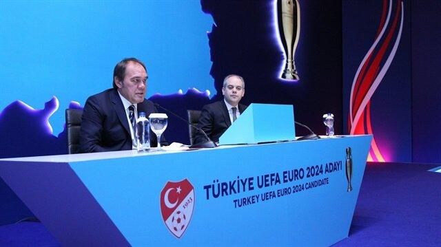 TFF Euro 2024 adaylığı için sloganı ve logoyu açıkladı