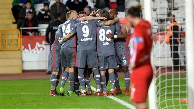 Beşiktaş'ın deplasmanda galibiyet hasreti bitti