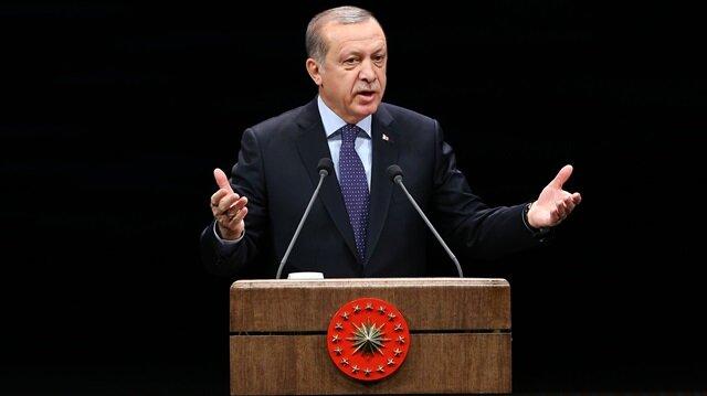 Erdoğan'dan Mehmetçik'e dua