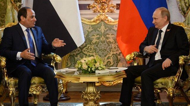 Mısır: Soçi'ye katılmak için Rusya'dan davet aldık