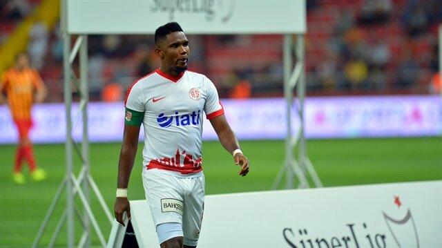 Galatasaray-Eto'o transferinde adım adım sona doğru