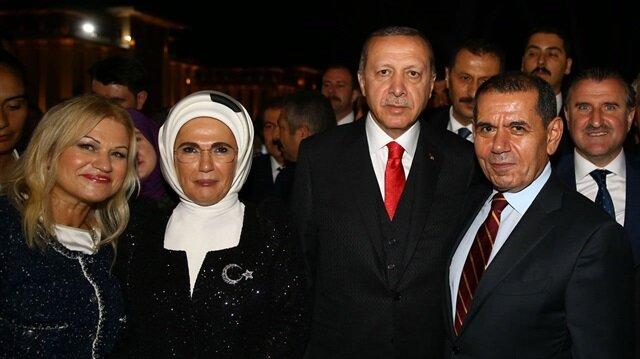 Erdoğan'dan Dursun Özbek'e telefon