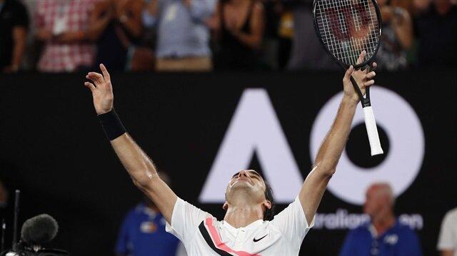 Avustralya Açık'ta şampiyon Federer: 20. Grand Slam zaferi