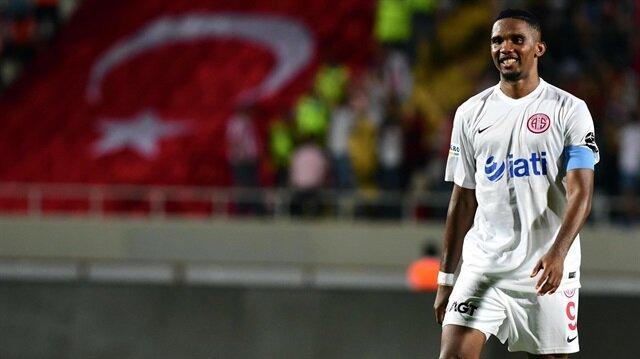 Antalyaspor'dan Eto'o'nun geleceği hakkında açıklama