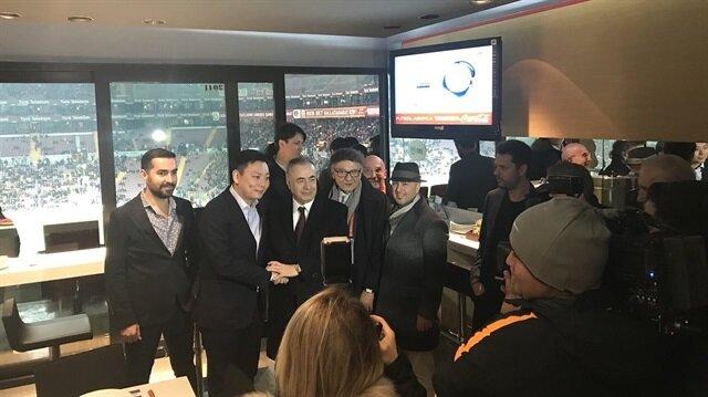 Galatasaray-Antalyaspor maçını izleyen isim herkesi şaşırttı