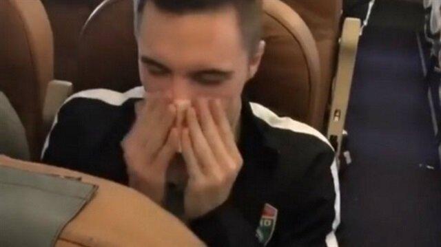 Rus futbolcu paraya burnunu silip Instagram'da paylaştı!