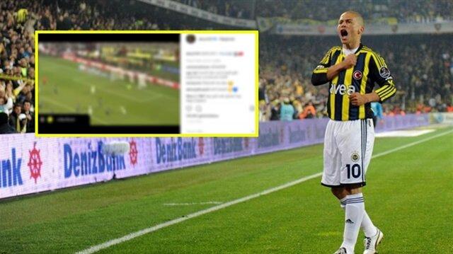 Alex de Souza'dan Beşiktaş'a gönderme: İmalı paylaşım
