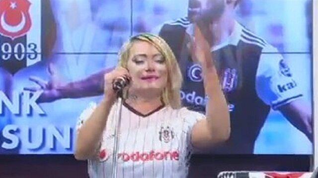 Çatlak Şanzel yaptı yapacağını! İşte Beşiktaş'a özel beste
