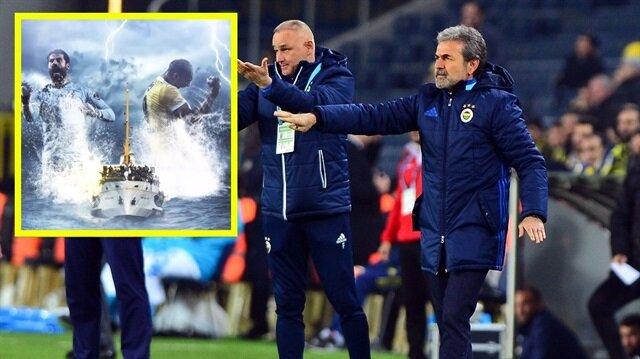 Fenerbahçe'nin derbi videosunda ortalığı karıştıran detay