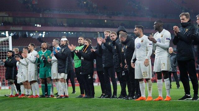 Östersunds, Arsenal'i devirdi ama yetmedi!