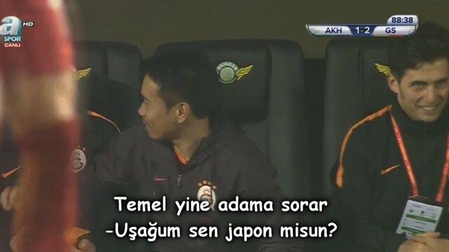 """Galatasaraylıları kırıp geçiren """"Nagatomo"""" fikrası"""