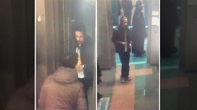 Çarşaflı kadına sözlü saldıran şahıs yakalandı
