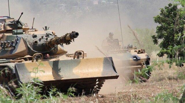 Adım adım Afrin'e: 4 köy daha teröristlerden temizlendi