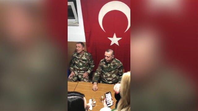 Cumhurbaşkanı Erdoğan Bil oğlum türküsünü söyledi