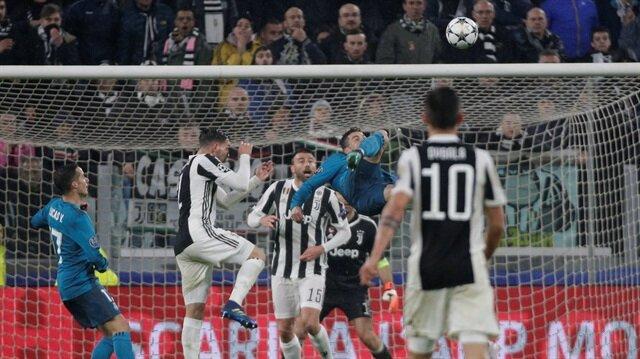 Ronaldo röveşata golünde adeta kanatlandı