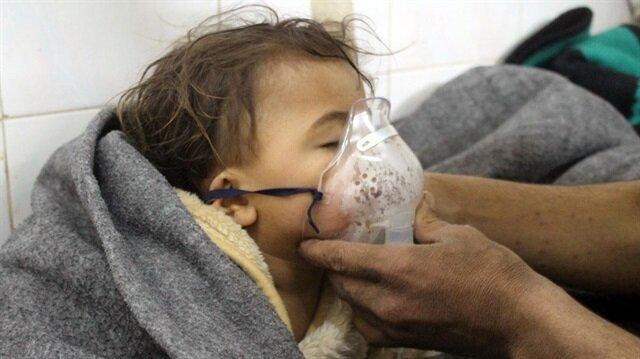 Esed rejimi Doğu Guta'da kimyasal silahla saldırdı