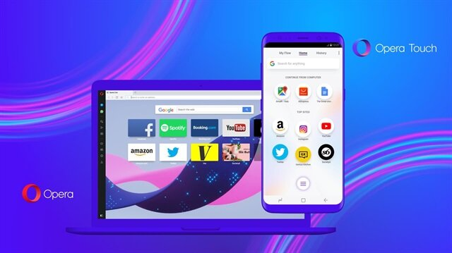 Yalnızca Android kullanıcılarına özel yeni web tarayıcı: Opera Touch