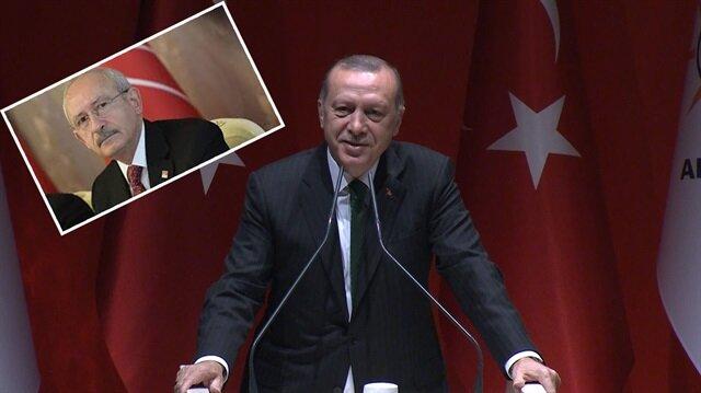 Erdoğandan, Kılıçdaroğluna adaylık çağrısı, Çok yumuşaksın...
