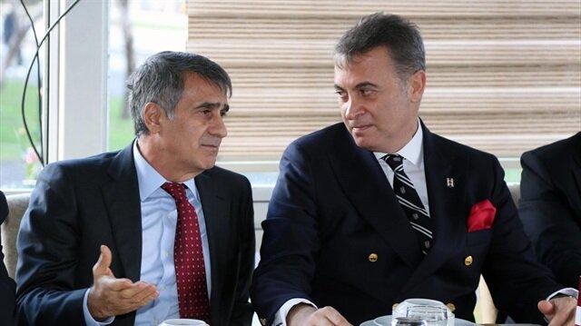 """Beşiktaş'ta """"Fikret Orman ve Şenol Güneş görevi bırakacak"""" iddiası"""