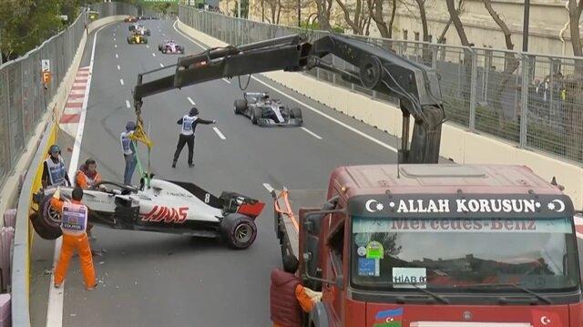 İşte Formula 1e damga vuran Türk çekicinin videosu