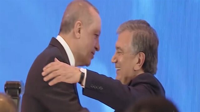 Özbekistan Cumhurbaşkanlığından Erdoğana özel klip