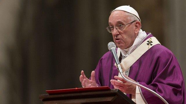 Papa Francis'ten İsrail'in Gazze'deki katliamına tepki