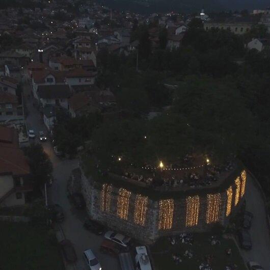 Osmanlı çarşısında ramazan coşkusu