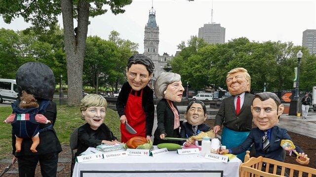 G7 Zirvesi başlamadan liderin kavgası başladı