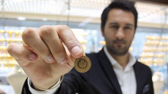 Gram altın 193 lira seviyesinde