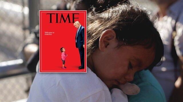 """""""Amerika'ya hoşgeldin!"""" Meksikalı küçük kız"""