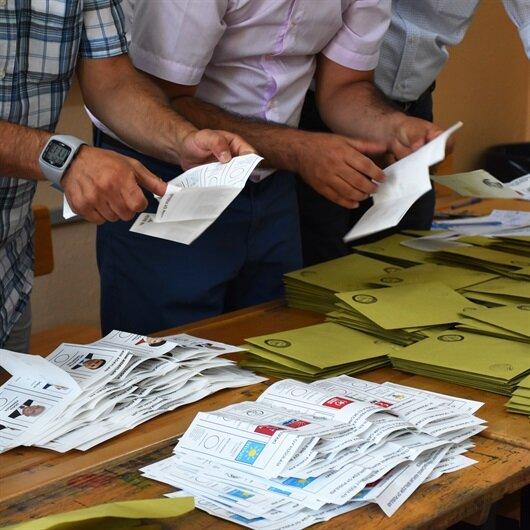 First results of Turkey's presidential and parliamentary elections