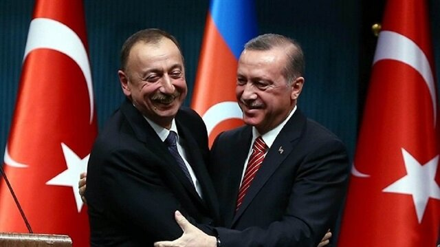 Aliyev'den Cumhurbaşkanı Erdoğan'a tebrik telefonu